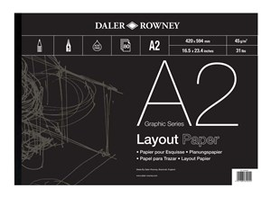 Daler-Rowney Layout