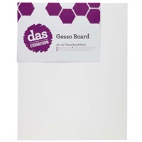 das Exhibition Gesso Boards