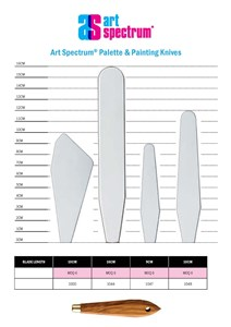 Palette/Painting Knives - AS