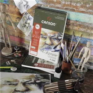 "Canson ""C"" à Grain Drawing Paper"