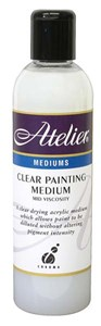 ATELIER CLEAR PAINTING MEDIUM 250ml