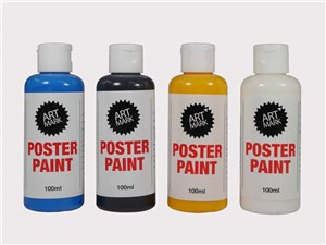 AM POSTER PAINT 100ML SCARLET