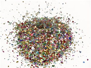 CONFETTI GLITTER 250ml JAR MIXED