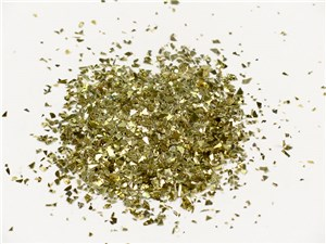 CONFETTI GLITTER 500ml JAR GOLD