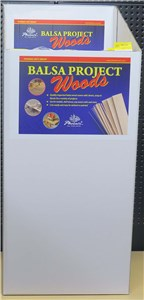 BALSA WOOD 4.7 x 6.3 x 914mm (20PC)