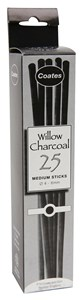 COATES WILLOW CHARCOAL MEDIUM (5-6mm) (2