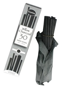 COATES WILLOW CHARCOAL SHORT LENGTHS (30