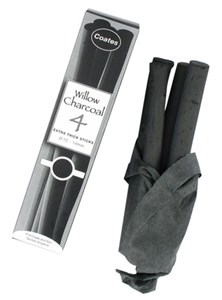 COATES WILLOW CHARCOAL EXTRA THICK (10-1