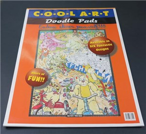 COOL ART DOODLE PAD A2 ORANGE (toys)