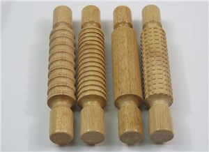 DAS PATTERNED ROLLING PIN SET of 4