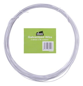 Das GALVANISED WIRE 1.6mm x 30M