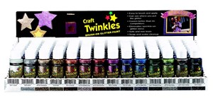 CRAFT TWINKLES 2oz CHRISTMAS GREEN
