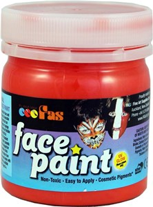 FAS PRO FACE PAINT 120ml RED