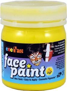 FAS PRO FACE PAINT 120ml YELLOW