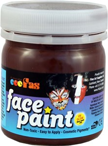 FAS PRO FACE PAINT 120ml BROWN