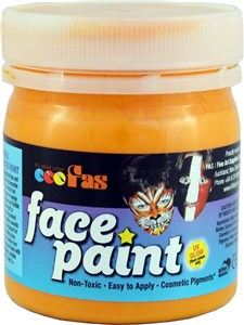 FAS PRO FACE PAINT 120ml DEEP YELLOW