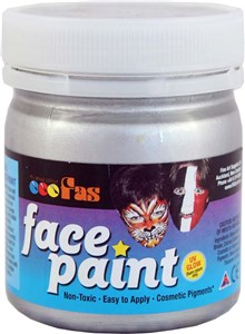 FAS PRO FACE PAINT 120ml SILVER