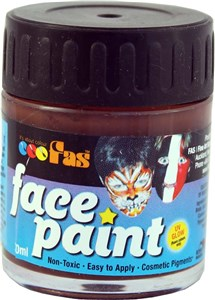 FAS PRO FACE PAINT 30ml BROWN