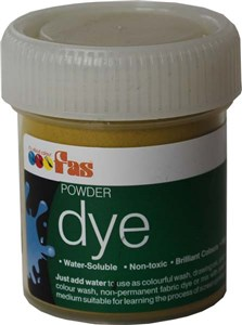 FAS LIQUID DYE 50ml OCHRE