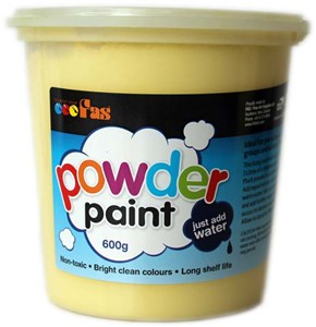 FAS SCHOOL TEMPERA POWDER 600gm YELLOW