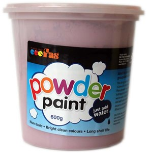 FAS SCHOOL TEMPERA POWDER 600gm BROWN