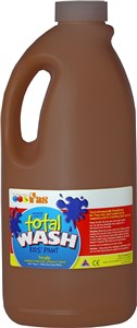 FAS TOTAL WASH 2LTR BROWN