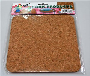 CORK HOT PAD SQUARE 190 x 190 x 4mm