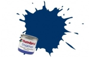 HUMBROL ENAMEL MIDNIGHT BLUE GLOSS 50ml