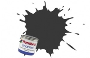 HUMBROL ENAMEL BLACK MATT 50ml