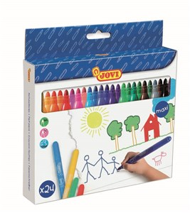 JOVI WASHABLE MAXI FELT-TIP PEN 24s