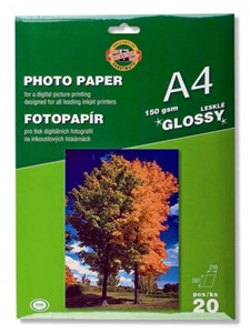 KOH-I-NOOR PHOTOPAPER GLOSS 150/20