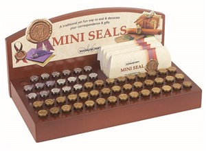 MANUSCRIPT MINI SEALS DISPLAY COMPLETE