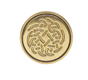 CERAMIC MINI SEAL & WAX - CELTIC ROSE