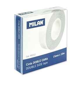 Milan Double Sided Tape 15mm x 10M