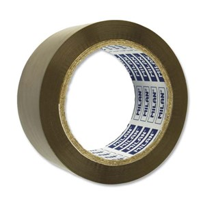 Milan Brown Packing Tape 50mm x 66M