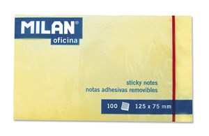 Milan Sticky Notes 125x75 Standard Yello