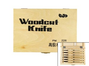 WOODCARVING SET PM 206