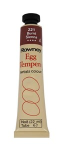 ROWN EGG TEMPERA 22ml BURNT SIENNA