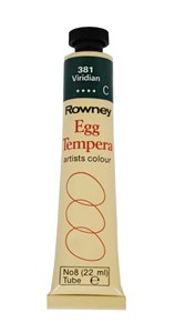 ROWN EGG TEMPERA 22ml VIRIDIAN