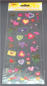 CARD MAKING STICKER - Cupid Heart